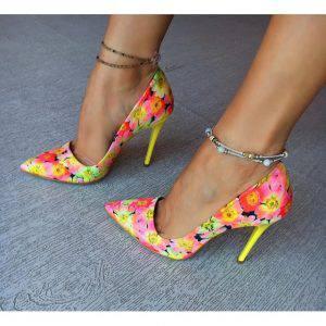 pantofi-flower-galbeni-2-8433425