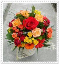 buchet-din-trandafiri
