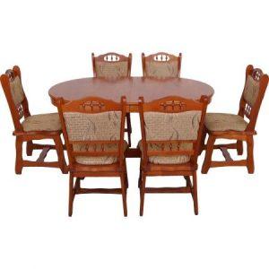 set-masa-extensibila-euro-1-cires-cu-6-scaune