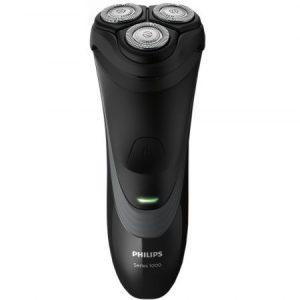 Aparat de ras Philips S1520 04, CloseCut, Pop-up trimmer, LED, Li-Ion, Negru Gri