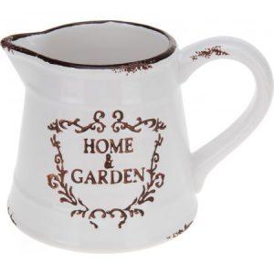 Carafa ceramica, model Home&Garden, alba