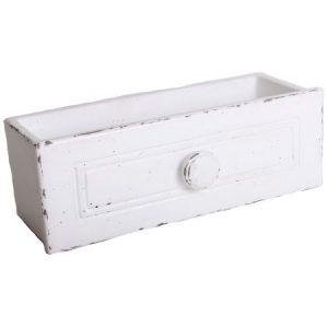 Ghiveci piatra, model sertar, dimensiune 25.5 x 9.5 cm