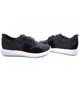 Adidasi Bacar Tip Yezzy Black