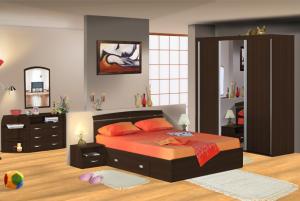 Dormitor_Xtend_cu_sifonier_cu_usi_glisante_wenge