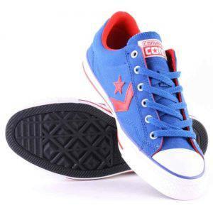 tenisi-converse-all-star-albastru-rosu