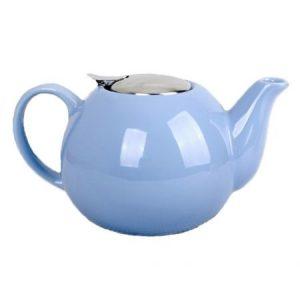 Ceainic din ceramica Peterhof, 1.25 l, sita, albastru