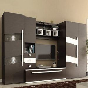 Set living, Geneva, wenge, pal